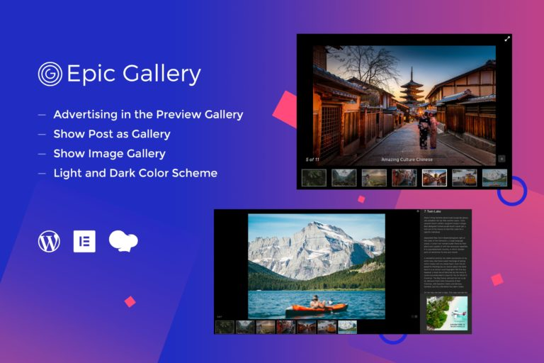 Epic Zoom Gallery Addons for Elementor