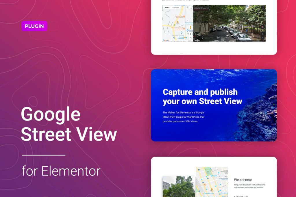 Google Street View for Elementor