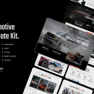 Lafuma Automotive & Car Rental Elementor Template Kit