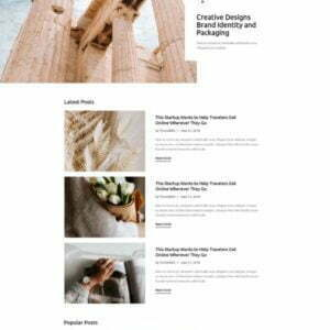 Blog4Life - Blog & Magazine Elementor Template Kit