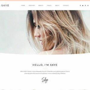 Skye - Modern Blog Elementor Template Kit