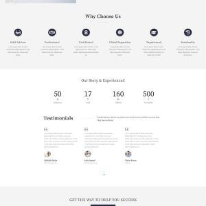 BizGUE - Business Elementor Template Kit