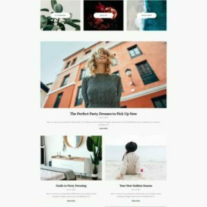 Katelyn - Modern Blog Template Kit
