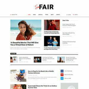 SanFair - Blog Magazine Elementor Template Kit