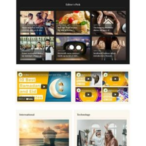 NewsAtlas – News & Magazine Elementor Template Kit