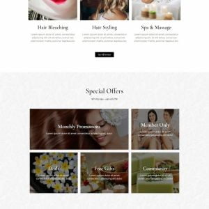 Segara - Premium Beauty Salon Elementor Template Kit