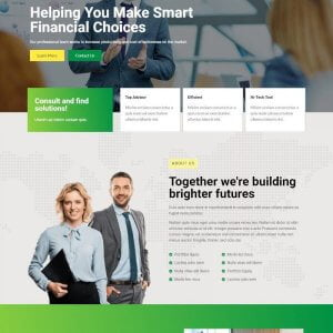 Finc - Business & Financial Elementor Template Kit